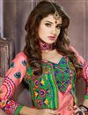 photo of Pink Cotton Salwar Kameez with Embroidery