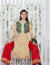 photo of Captivating Georgette Party Wear Palazzo Suit