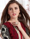 photo of Maroon Color Soothing Georgette Suit
