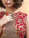 photo of Embroidered Red Color Wedding Wear Lehenga Choli in Jacquard And Silk Fabric