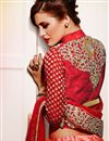photo of Scintillating Red Designer Embroidered Lehenga