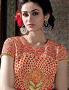 photo of Red Pakistani Style Georgette Salwar Kameez-2553