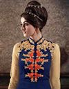photo of Navy Blue Georgette Designer Salwar Kameez-2558