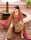 photo of Beige Color Alluring Palazzo Salwar Suit