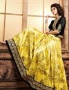 photo of Yellow Color Designer Lehenga Choli in Santoon Fabric