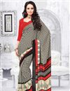 picture of Adorable Set of 2 Casual Printed Crepe Silk Sarees