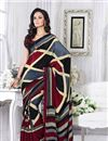 picture of Pack of 2 Casual Crepe Silk Printed Sarees