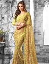 picture of Radiant Floral Print Casual Wear Combo of 2 Georgette Sarees