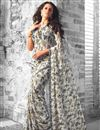 photo of Opulent Casual Wear Fancy Print Set of 2 Georgette Sarees