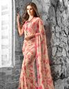 photo of Wonderful Fancy Print Georgette Fabric Combo of 2 Sarees