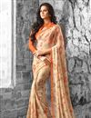 picture of Trendy Combo of 2 Georgette Fabric Floral Print Sarees