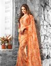 photo of Vibrant Casual Wear Fancy Print Set of 2 Georgette Sarees