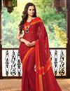 photo of Vibrant Combo of 2 Casual Wear Printed Chiffon Sarees