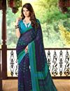 picture of Vibrant Combo of 2 Casual Wear Printed Chiffon Sarees
