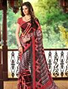 picture of Chromatic Set of 2 Casual Print Chiffon Sarees