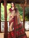 picture of Beguiling Casual Wear Combo of 2 Chiffon Sarees