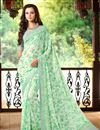 photo of Attractive Fancy Print Combo of 2 Chiffon Sarees