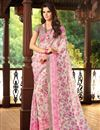 picture of Attractive Fancy Print Combo of 2 Chiffon Sarees