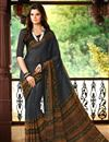 photo of Dashing Combo of 2 Casual Wear Printed Chiffon Sarees
