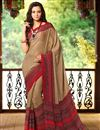 picture of Dashing Combo of 2 Casual Wear Printed Chiffon Sarees