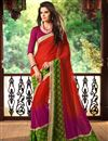 picture of Prismatic Casual Wear Combo of 2 Chiffon Sarees