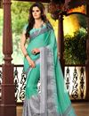 picture of Chromatic Combo of 2 Casual Wear Printed Chiffon Sarees