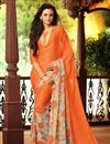 photo of Attractive Set of 2 Casual Print Chiffon Sarees