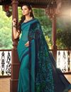 picture of Radiant Fancy Print Combo of 2 Chiffon Sarees