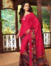 photo of Beguiling Set of 2 Fancy Print Chiffon Sarees