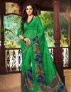 picture of Beguiling Set of 2 Fancy Print Chiffon Sarees