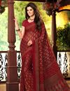picture of Mesmeric Set of 2 Casual Print Chiffon Sarees
