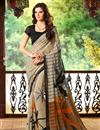 picture of Enticing Fancy Print Combo of 2 Chiffon Sarees