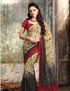 picture of Fascinating Chiffon Combo of 2 Designer Sarees