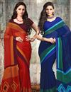 image of Enchanting Party Wear Sarees Combo