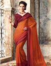 picture of Enthralling Chiffon Combo of 2 Designer Sarees