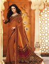 picture of Adorable Casual Wear Chiffon Combo of 2 Sarees