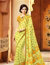 photo of Beautiful Fancy Print Combo of 2 Sarees in Chiffon Fabric