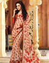 picture of Beautiful Fancy Print Combo of 2 Sarees in Chiffon Fabric