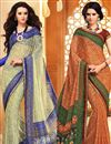 image of Appealing Casual Wear Chiffon Combo of 2 Sarees