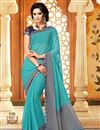 picture of Beaming Fancy Print Combo of 2 Sarees in Chiffon Fabric