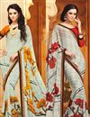 image of Classic Set of 2 Sarees in Chiffon Fabric