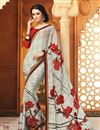 picture of Classic Set of 2 Sarees in Chiffon Fabric