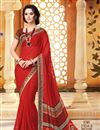 picture of Enticing Casual Printed Chiffon Set of 2 Sarees