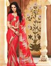 photo of Delightful Set of 2 Fancy Print Sarees in Chiffon Fabric