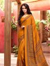 photo of Elating Combo of 6 Crepe Silk Fabric Printed Sarees