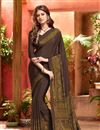 photograph of Elating Combo of 6 Crepe Silk Fabric Printed Sarees