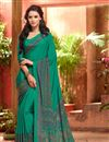 snap of Admirable Combo of 6 Crepe Silk Fabric Designer Printed Sarees
