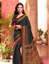 pic of Crepe Silk Fabric Invigorating Combo of 5 Regular Wear Sarees