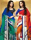 image of Marvelous Combo of 2 Designer Printed Sarees