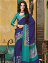 picture of Incredible Combo of 3 Crepe Silk Party Wear Sarees